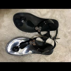Black Michael Kors sandals